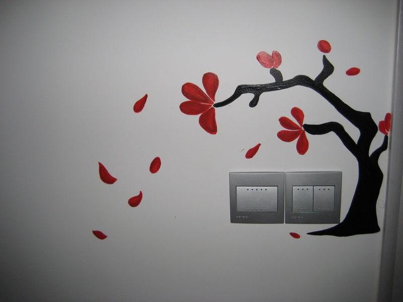 墙面手绘的材料介绍