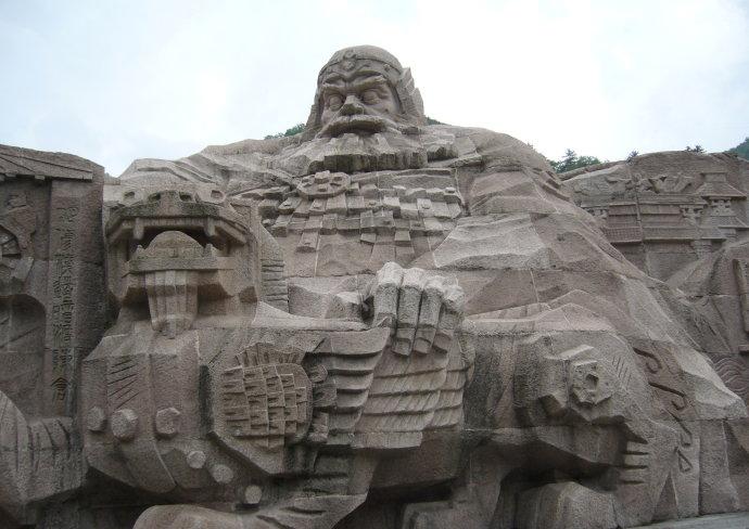 园林雕塑专题 三 浮雕历史文化墙