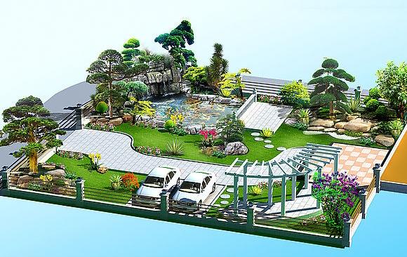 农村院落设计图片
