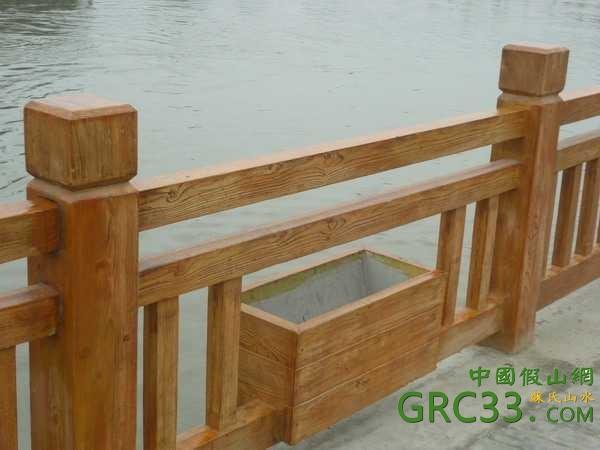 仿木系列 桥 栏杆 花架